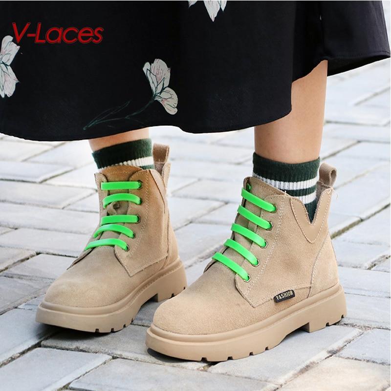 12 ชิ้น/ล็อต Tieless ซิลิโคนเชือกผูกรองเท้า QUICK รองเท้า Laces แบนรองเท้าสร้างสรรค์อุปกรณ์เสริม Drop Shipping