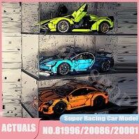 High-Tech alps inis siano 42115 Super Roadster modello di auto GT3 RS Racing Vehicle Building Blocks bambini ragazzi giocattoli regali 42083