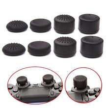 Bevigac funda de silicona suave antideslizante con agarre para el pulgar, tapas de palanca de mando, para Sony Play Station 4 PS 4 PS4, 8 uds.