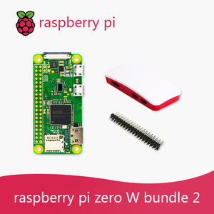 Image 3 - Raspberry Pi Zero W DEV Kit 1GHz single core CPU 512MB RAM 2.4G WiFi Bluetooth 4.1 Bundle include Case MINI HDMI uUSB Cable
