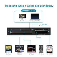 Устройство для чтения карт памяти многофункциональный кардридер