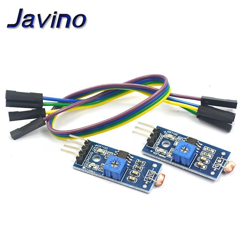 Светочувствительный датчик сопротивления яркости модуль интенсивности света обнаруживает новый для Arduino 3/4pin DuPont line