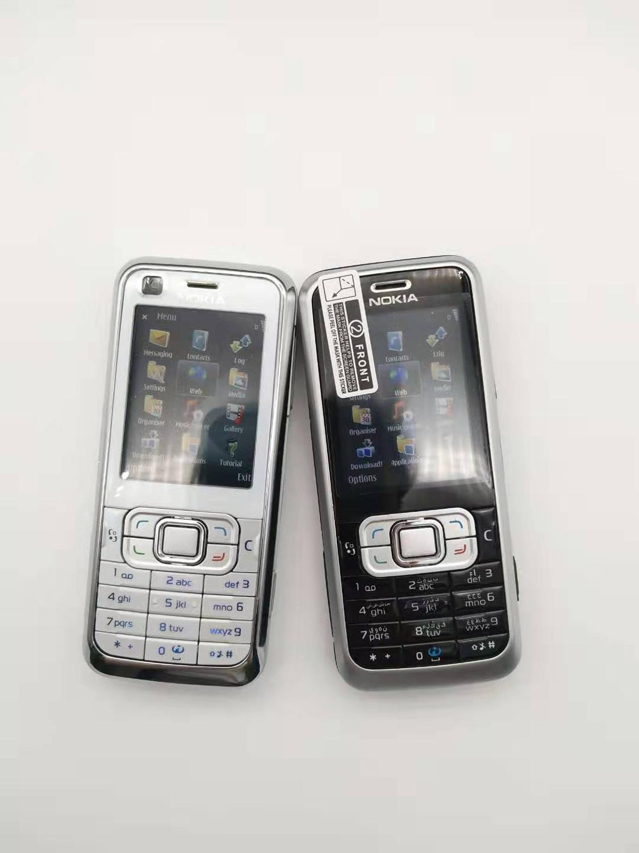 Original Nokia 6120 Classic Mobile Phone Unlocked 6120c 3G Smartphone & One Year Warranty Refurbished