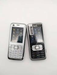 Original nokia 6120 clássico celular desbloqueado 6120c 3g smartphone & um ano de garantia remodelado