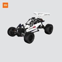 Xiaomi mijia ビルディングブロック砂漠レース 6 歳子供パズル教育子供のおもちゃ