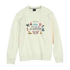 Image 5 - SIMWOOD 2020 autumn new hoodies men travel print funny sweatshirts jogger texture carton print tracksuit SI980781