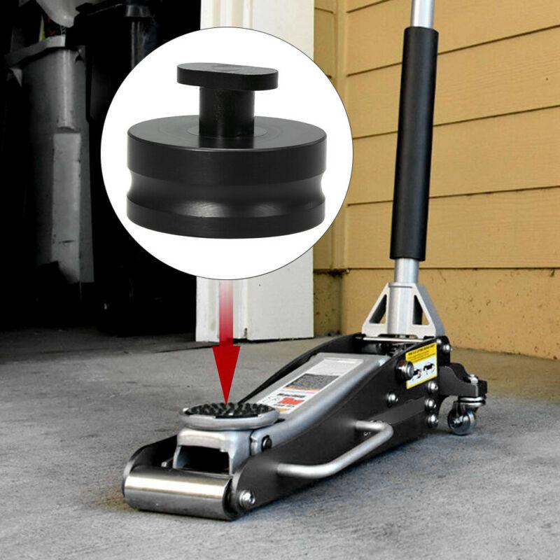 4pcs Equipment Lifting Jack Pad Set Universal Black Rubber Car Tool Automotive  6 * 4.7cm / 2.36 * 1.85inch