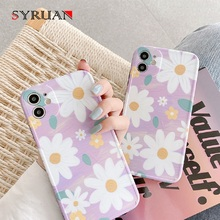 Phone Case For iphone X 8 Plus 6 6S 7 XS Max XR Case For iphone 11 11Pro Max soft Back Cover Personalized Colorful Flower Leaf leaf print iphone case
