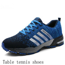 Shoes Table-Tennis Training-Sneaker Non-Slip Men Cushioned Wear-Resistant Outdoor Sports