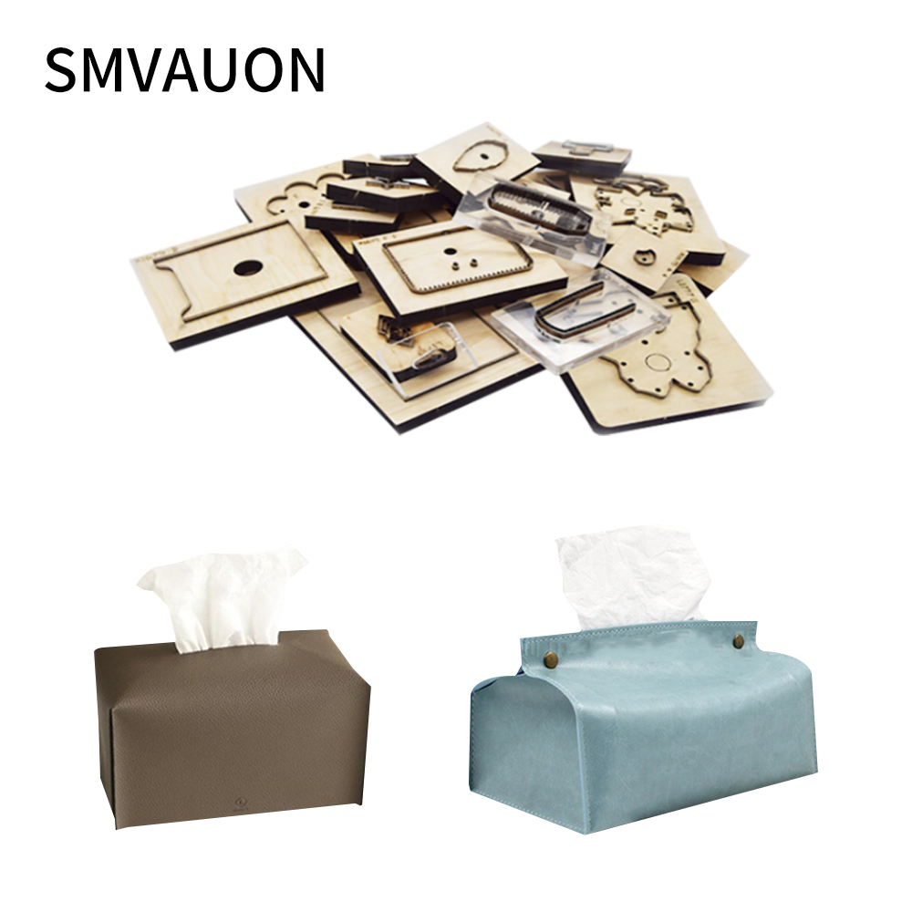 Wood Die Cutting Decoration Fashion Tissue Box Steel Mold Scrapbook Suitable For Die Cutting Machine Leather Cutter