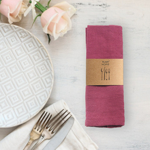 5pcs/lot Table Napkins Cotton Linen Cloth Towel Decorative Handkerchief Home Wedding Party Kitchen Cup Dishes 30x42cm
