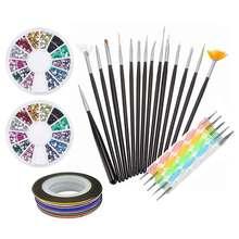 Nail Set UV LED Lamp Dryer Nail Gel Polish Kit Soak Off Manicure Tools Set electric Nail drill For Nail Tools недорого
