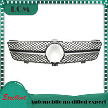 SLS Style ABS Plastic Front Bumper Racing Grille For-Mercedes For-Benz CLS-class W219 2008 2009 2010 with Emblem