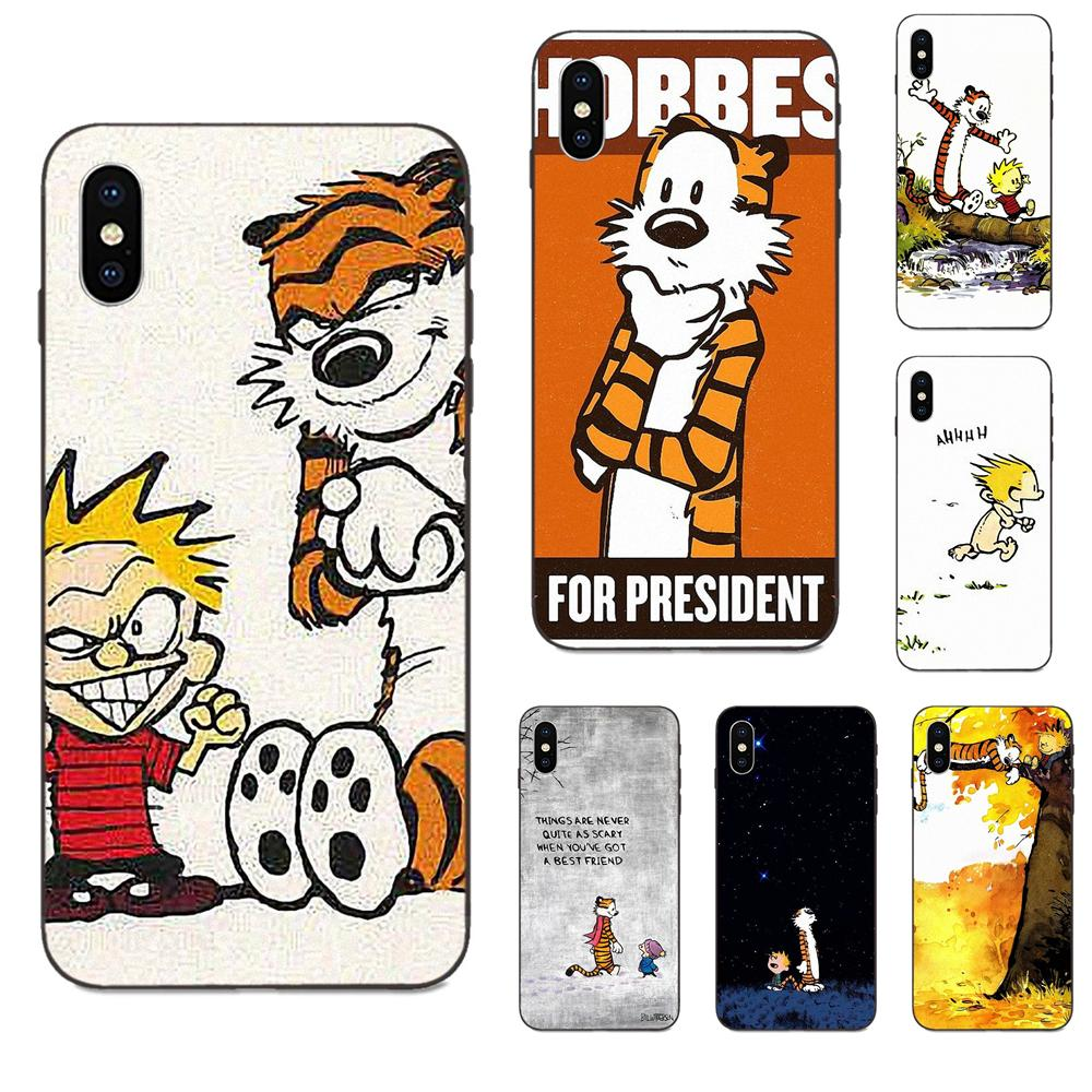 Calvin and Hobbes For presiden iphone case
