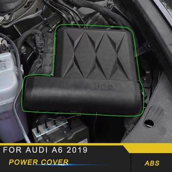 Dla Audi A6 C8 2019 akumulator samochodowy mocy elektrody Protector negatywne zacisk mocujący obudowa tanie i dobre opinie FRONT