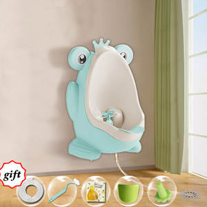 Urinal Pots Hook Frog Pee-Trainers Children's Cute Potty for 8M To 6Y Baby Kids