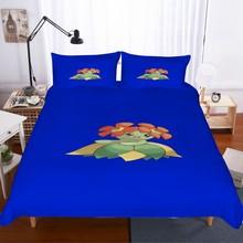 Cartoon Spoiled Animals 3D Print Duvet Cover Set Pillowcase Twin Full Queen King Size Blue Bedding Set Bed Linen Set Kid Bedding star print full over bedding set