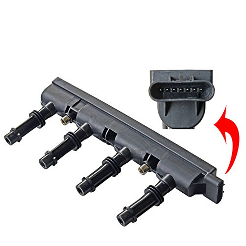 Car Ignition Coil Pack Auto Engine Ignition Coil <font><b>55579072</b></font> Fit for Buick Encore/Cadillac/Chevrolet Cruze Trax Volt image