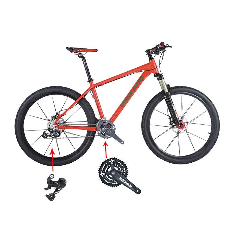 Mountain bike carbono men vermelho branco aço quadro engrenagens roda bruta cor peso material origem líquida