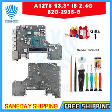 "Echt A1278 Moederbord Voor Macbook Pro 13.3 ""I5 2.4 Ghz Logic Board 820-2936-B 2011(China)"