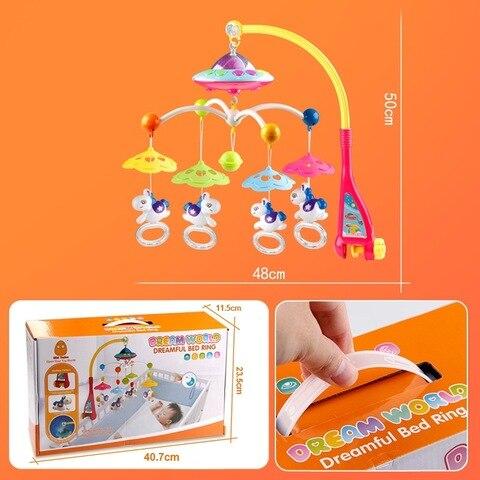 idade tocando sino controle remoto musica projecao apaziguar brinquedo infantil