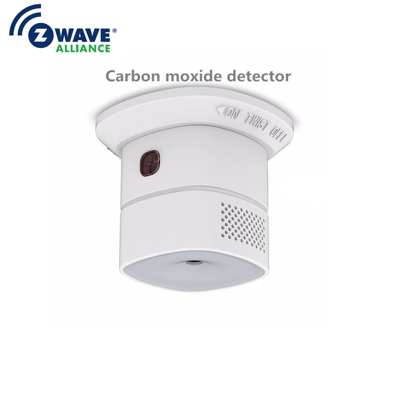 Heiman Z-wave Carbon Monoxide Detector Sensor Alarm Smart Home EU Version 868.42mhz Z Wave Smart Detector 85dB/1m