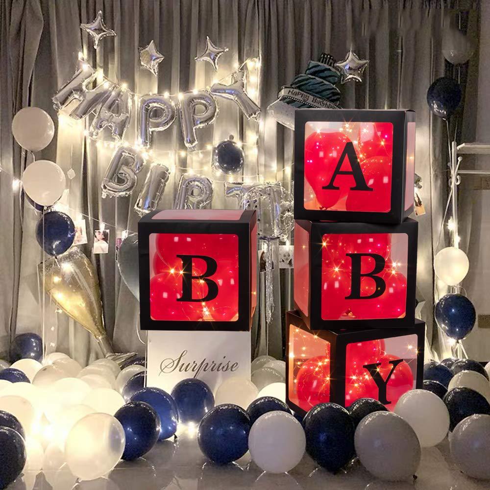 Обожаю. Трусы-боксеры чистый красный прозрачная коробка из 4-х предметов вечерние Свадебная ко дню рождения украшения сцены украшения шар к...