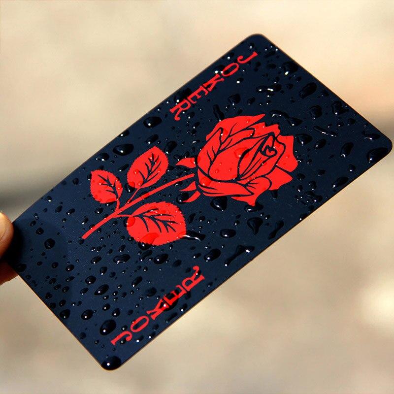 Rosa naipes póker Deck juego de póker hoja de oro juego de cartas mágicas de plástico tarjetas a prueba de agua Magic Herramientas de apicultura de marca Bee Queen, jaula apícola de plástico, marcador de plástico, captura de botella de plástico sin dolor, 1 unidad