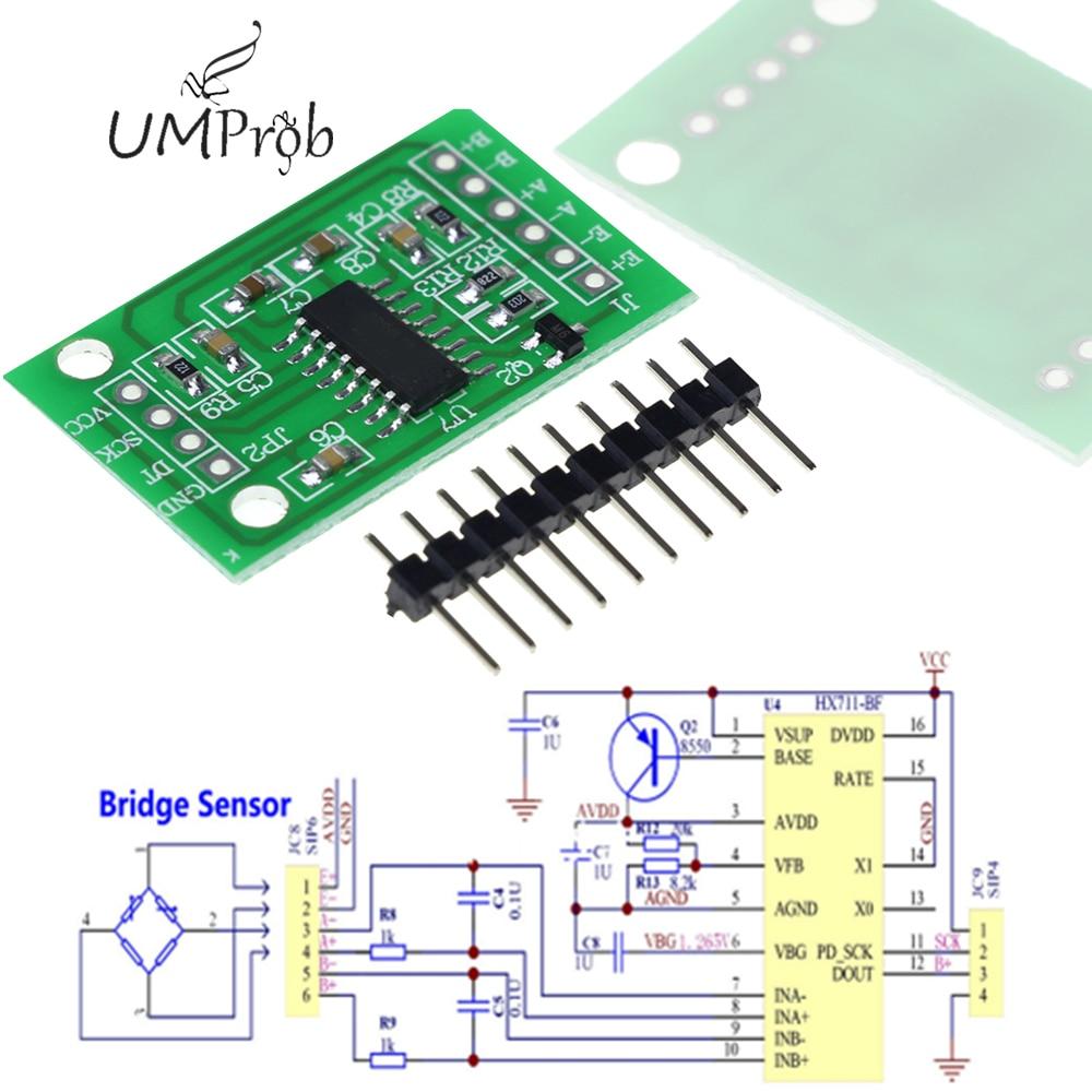 HX711 Weighing Sensor Dual-Channel 24 Bit Precision A/D Module Pressure Sensor Hot Sale