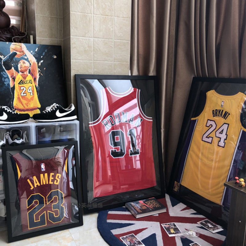 New Sport Jersey Display Case Shadow Box  Basketball Football Hockey Jersey Frame Display Case Shadow Box Gift For Man