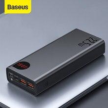 Baseus Power Bank 30000 мАч с 20 Вт PD Быстрая Зарядка Power Bank портативный внешний аккумулятор зарядное устройство для iPhone 12 Pro Xiaomi Huawei