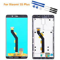 Display For XIAOMI Mi 5S Plus LCD Touch Screen Frame Digitizer For XIAOMI Mi 5s Plus Display MI 5splus
