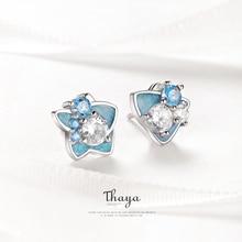 Thaya Original Design Earring 925 Sterling Silver Romantic B