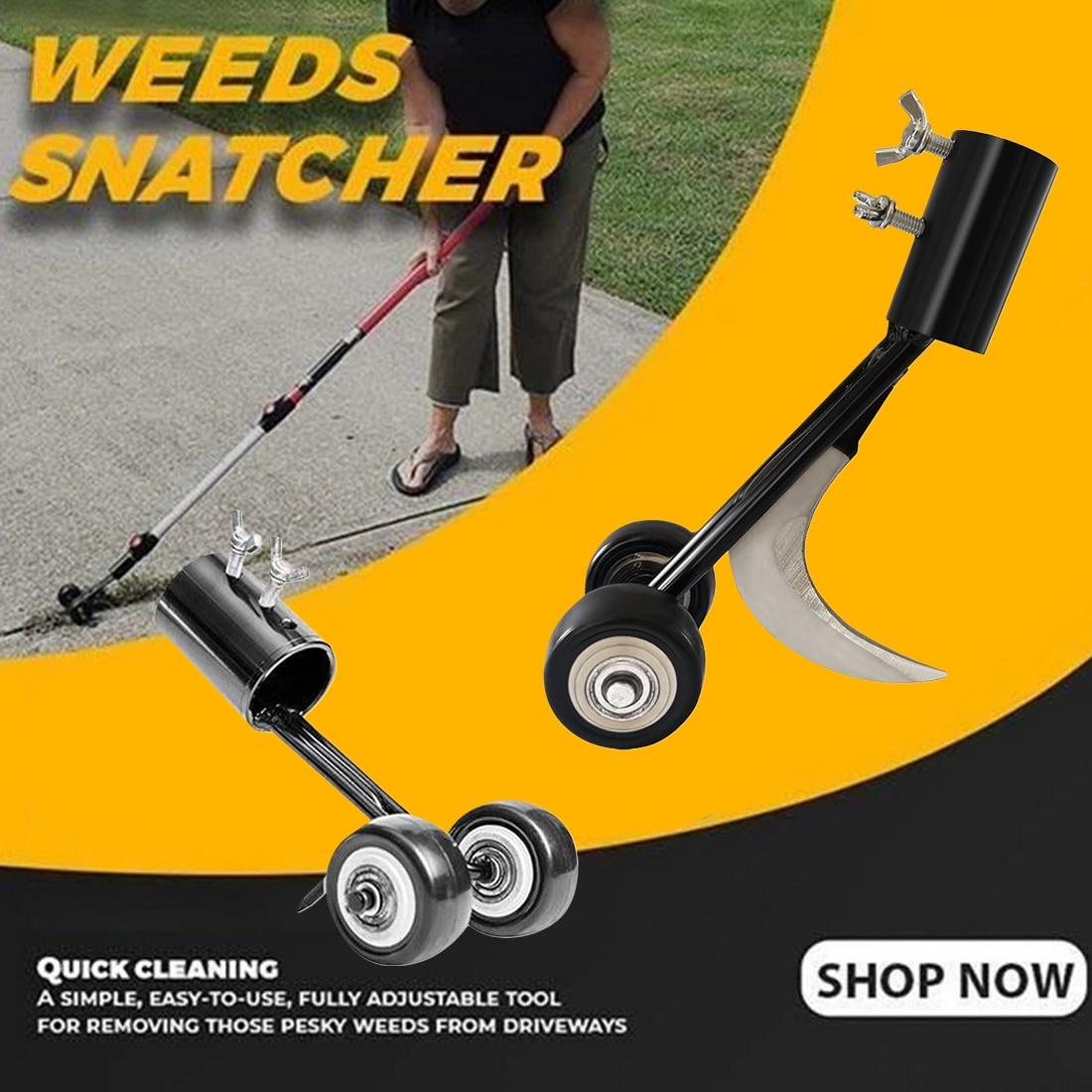 Manual Weeder Tool,Garden Stand Up Weed Puller Weeds Snatcher Weed ...