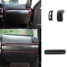 Co Piloot Dashboard Panel Passenger Seat Decoratie Trim Voor Toyota 4 Runner 2010 2020 Auto Interieur Accessoires Styling abs Rood