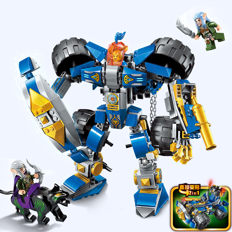 Models building toy Compatible With lego 2313 Building Block War of Glory Knight 372pcs Building Blocks toys & hobbies