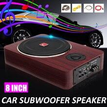8 pulgadas 600W coche Subwoofers Speaker12V de potencia activa Audio estéreo latón Subwoofer amplificador de altavoces