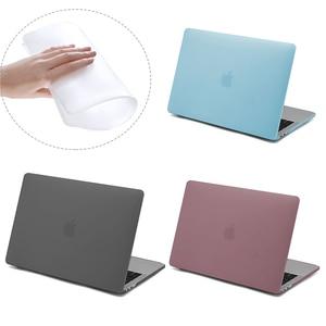 For MacBook Air 13 Case 2020 New A2179 A1932 Soft TPU Laptop Case for Mac book Pro 13 A2289 A1706 Pro 16 inch A2141 2019 Cover