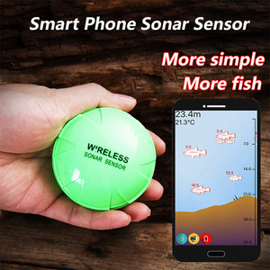 Portable Smart Sonar Fish Finder Bluetooth Wireless Depth Sea Lake Fish Detect Echo Sounder Sener Fish Finder IOS & Android App