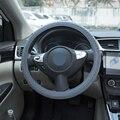 LEEPEE 1 шт. автомобильный силиконовый чехол на руль Универсальный Противоскользящий Мягкий силиконовый чехол на руль автомобильный Стайлинг