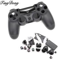 Wymienna obudowa Shell Case dla Sony PS4 Pro 4.0 bezprzewodowy V2 kontroler JDS040 zestaw z modem pokrywa dla kontrolera Dualshock 4 Pro kontroler