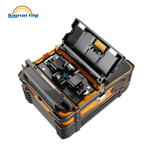 Image 4 - AI 9 Automatic SM&MM Multi language Intelligent FTTH Fiber Optic Splicing Machine Optical Fiber Fusion Splicer