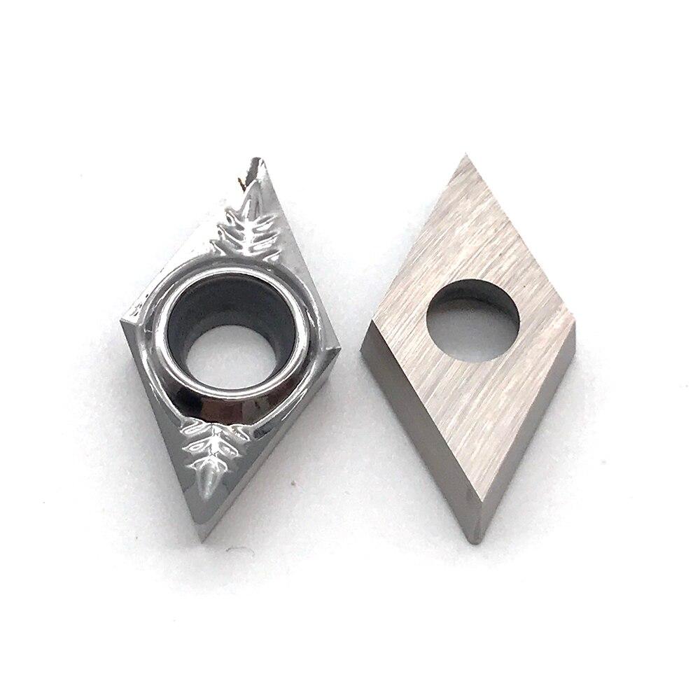 DCGT070202 DCGT070204 DCGT070208 AK H01 100% Original Aluminum Alloy Blade DCGT 0702 CNC Lathe Tool Inserts Aluminum Processing
