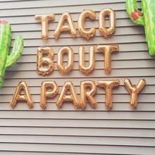 Ballon Rose dieu Cactus, 14 pièces, décorations de fête, décor d'anniversaire dans le désert, fournitures pour fête d'anniversaire mexicaine, fête Taco Bout a
