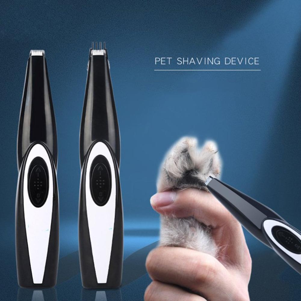 Multi Function Pet Foot Hair Clipper Dog Foot Pad Foot Palm Trimmer Usb Electric Cat Shaving Foot Hair|Hair Trimmers| |  - title=