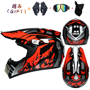 Racing Motocross Motorrad Helm Casque Moto Capacete Moto Casco Offroad Cartoon Kinder Erwachsene Full Face Motorrad Helme