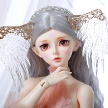 Fairylandชั้นFeeple60 Rendiaตุ๊กตาเด็กซิลิโคนBjd 1/3 Bodyชุดเด็กตุ๊กตาตาเรซิ่น
