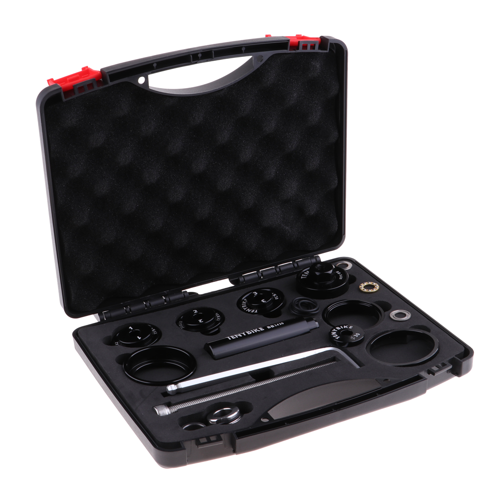 Bracket Kit Tool Remove Install Press-Fit Bottom Bracket For Bike Bicycle Fixing Maintaining Bicycle Bearing Press Kit Tool