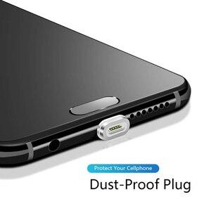 Магнитный usb-кабель CANDYEIC для Samsung Galaxy S20 S10 OnePlus 8T Xiaomi 10 Pro Redmi K30 Pro Note5, Магнитный зарядный шнур для телефона