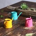 A1 мини цветной маленький чайник садовый полив консервный горшок полив чайник lo1020414